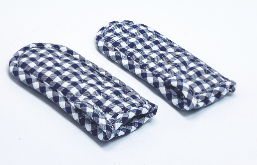 Gingham Hot Handle Holder (Set of 2)