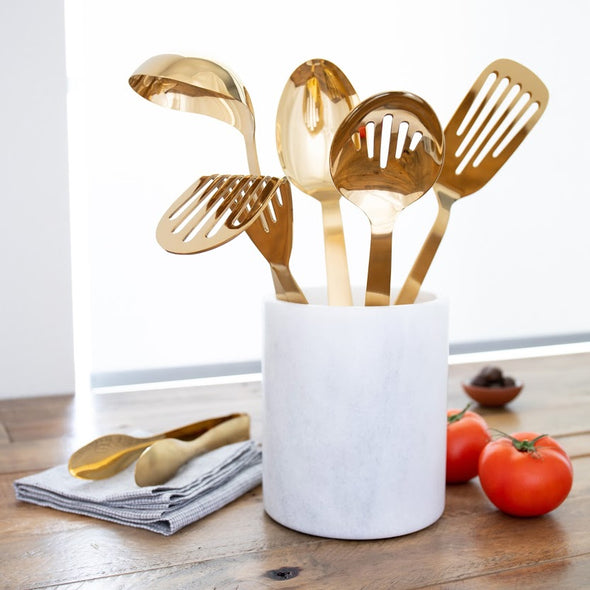 Chef's Tools Set: Gold Collection (5-Piece)