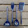 4 Piece Melamine Cooking Tools - Navy