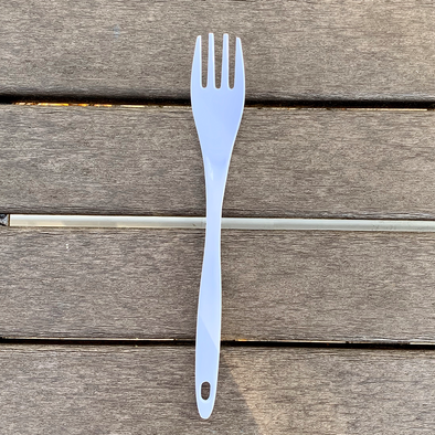 Fork Melamine Cooking Tool - White