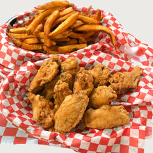 Load image into Gallery viewer, Family Deal Chicken Wings and Fries