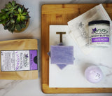 Lavender Bath Bundle