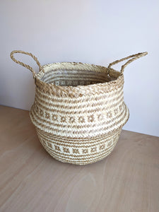 Seagrass Lined Basket
