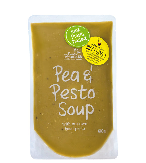 Pesto Princess Pea & Pesto Soup 600g