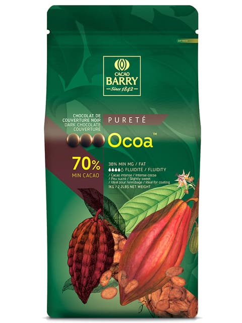 Cacao Barry Ocoa 70% Dark Choc 1kg