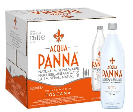 Acqua Panna Still Water PET - 12 x 1lt