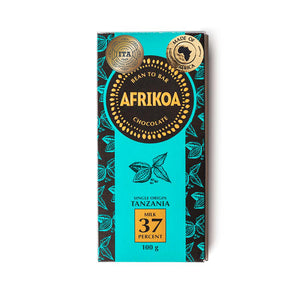 Afrikoa 37% Milk Chocolate 100g