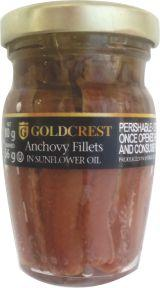 Anchovy Fillets in Sunflower Oil 80g