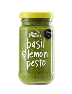 Pesto Princess Basil & Lemon Pesto 130g Jar