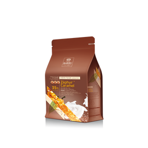 Cacao Barry Zephyr Caramel 35% Milk Chocolate 2.5kg