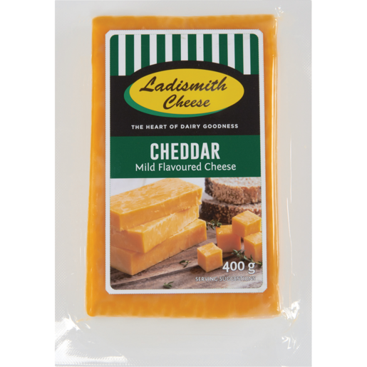 Ladismith Yellow Cheddar 400g