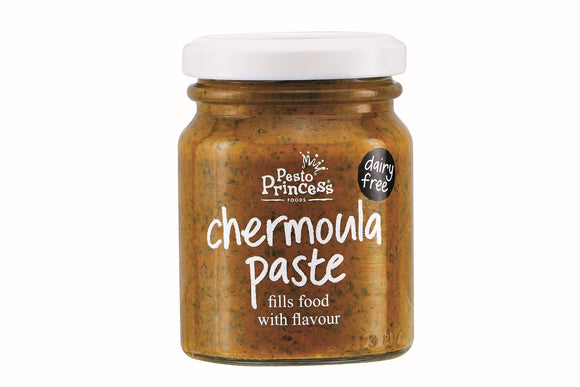 Pesto Princess Chermoula Paste 130g Jar