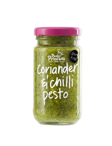Pesto Princess Coriander & Chilli Pesto 130g Jar