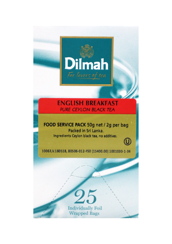 Dilmah English Breakfast Black Tea - 25s