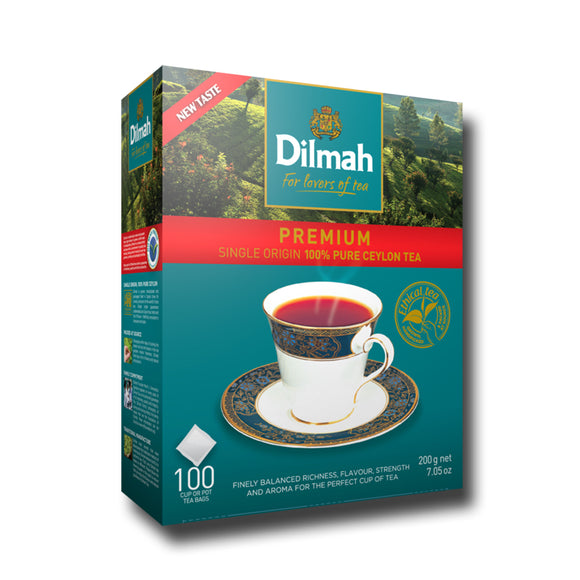 Dilmah Premium Black Tea - 100s