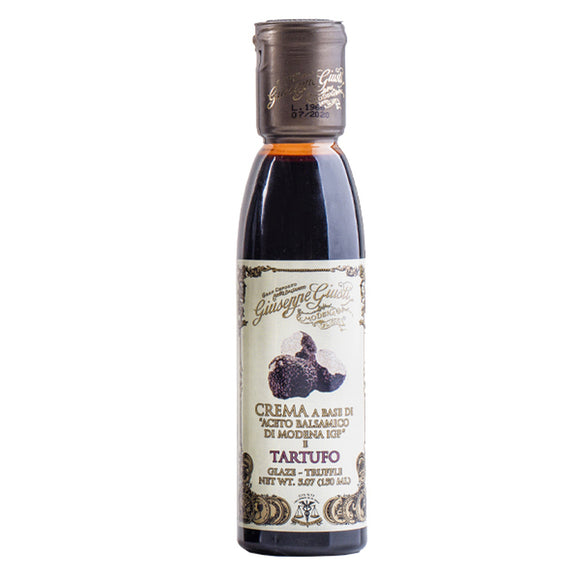 Guiseppe Giusti Truffle Flavoured Black Balsamic Glaze 150ml