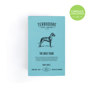 Terbodore The Great Dane Coffee Capsules 10 Per Box
