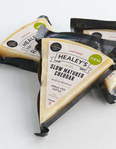 Healey's Slow Matured Farmhouse Cheddar 200g