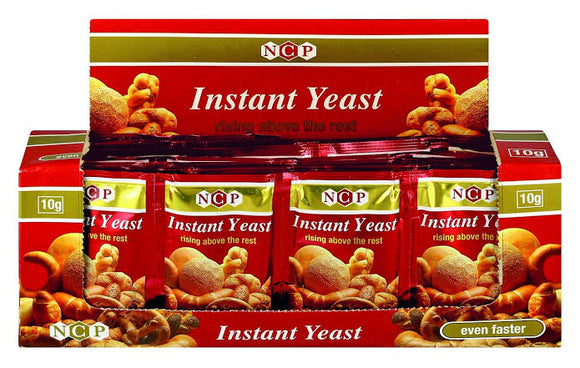 NCP Red Instant Dry Yeast Box of 48 x 10 g