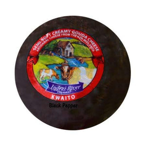 Indezi Kwaito Cows Cheese - Black Pepper 300g
