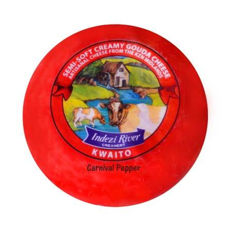 Indezi Kwaito Cows Cheese - Carnival Pepper 300g