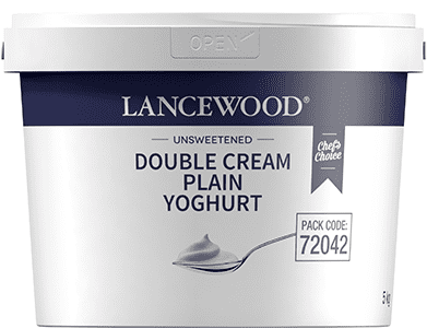 Lancewood Double Cream Plain Yoghurt 5lt