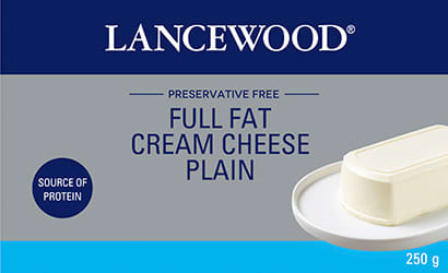 Lancewood Full Fat Cream Cheese 250g