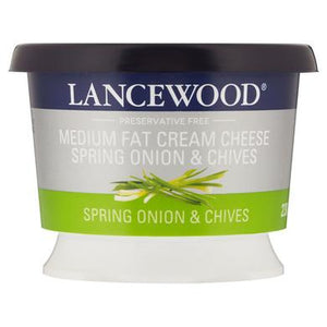Lancewood Spring Onion & Chives Flavoured Cream Cheese 250g