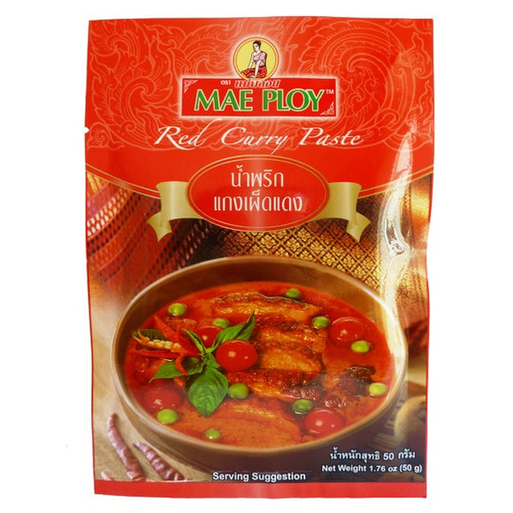 Mae Ploy Red Curry Paste 50 g
