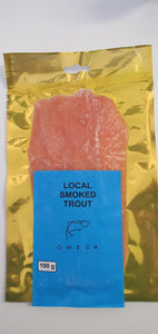 Smoked Rainbow Trout Ribbons 100g