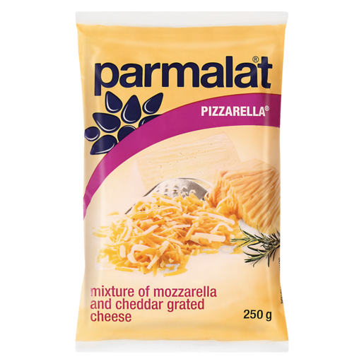 Parmalat Grated Pizzarella Cheese 250g