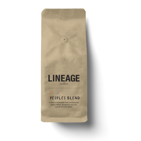 Lineage Peoples Blend Beans 250g