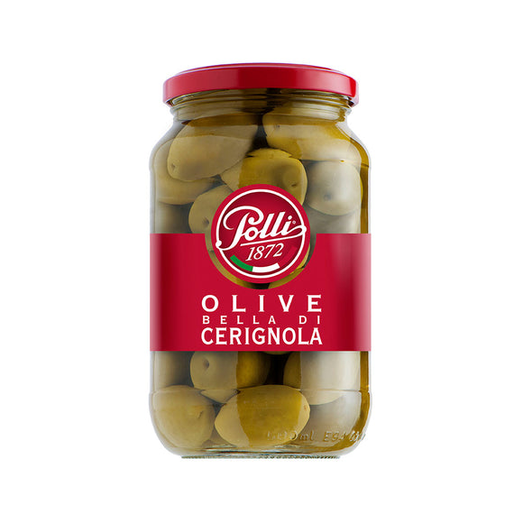 Bella di Cerignola Green Olives 565g