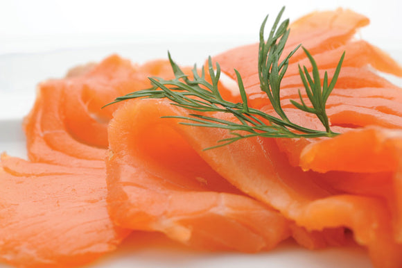 Cold Smoked SA Salmon Trout 80g