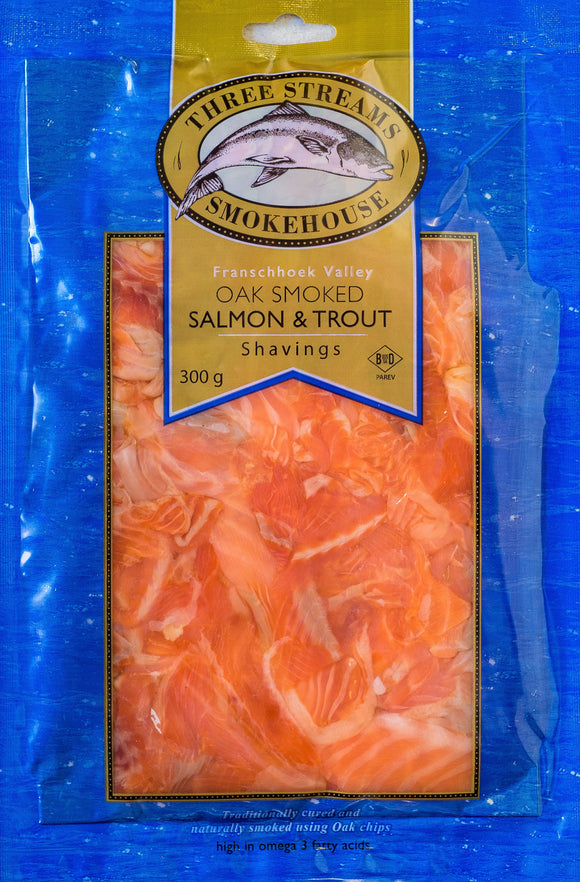 Three Streams Cold Smoked Trout Shavings 300g