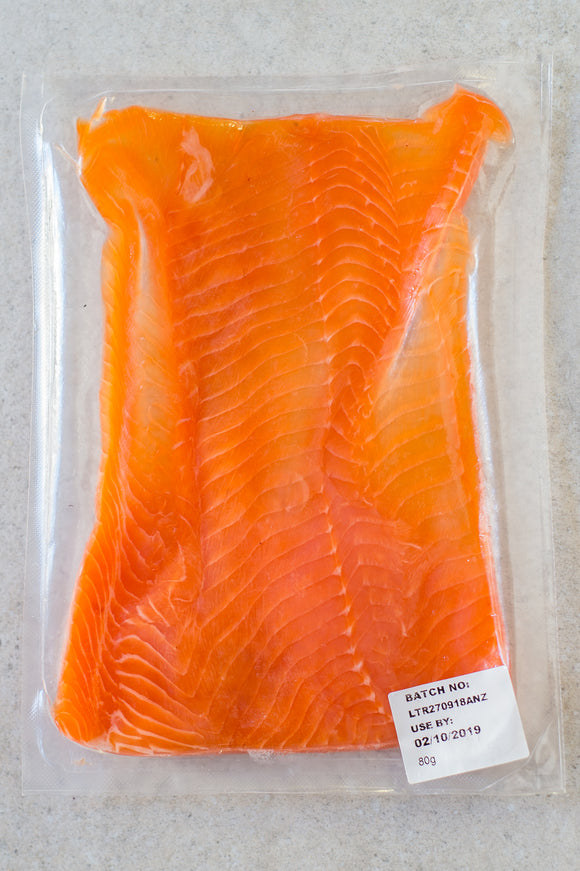 Smoked Rainbow Trout Ribbons 80g