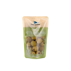 Tuna Marine Pitted Green Olives 180g