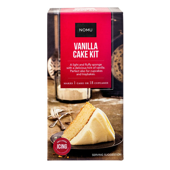 NOMU Vanilla Baking Kit
