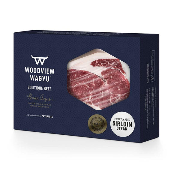 Woodview Wagyu Sirloin Steaks - Gold Label (2 x ±300g)
