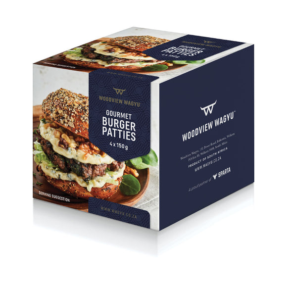 Woodview Wagyu Burger Patties 4 x 150g