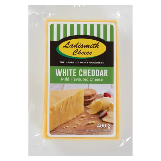 Ladismith White Cheddar 400g