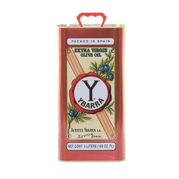 Ybarra Extra Virgin Olive Oil 5lt Tin