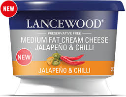 Lancewood Jalapeno & Chilli Flavoured Cream Cheese 250g