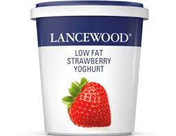 Lancewood Low Fat Strawberry Yoghurt 500g
