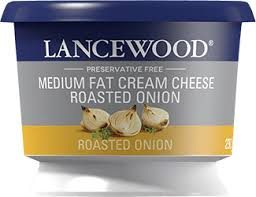 Lancewood Roasted Onion Flavoured Cream Cheese 250g