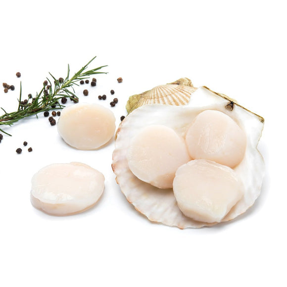 Frozen Canadian Scallop Meat  (No Roe) 300g