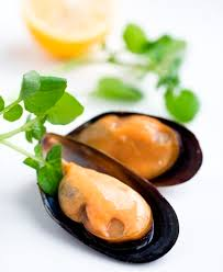 South African Half Shell Mussels - 800g