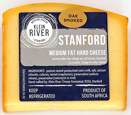 Klein River Smoked Stanford ±200g