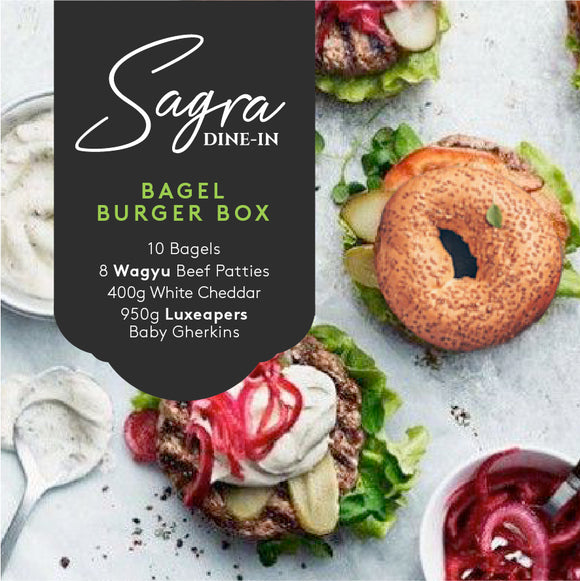 Bagel Burger Box
