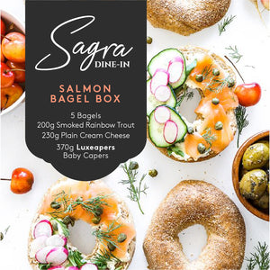 Salmon Bagel Box